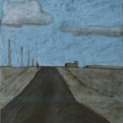 On the road again - 92 x 49
