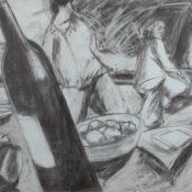 Déjeuner III - 100 x 80