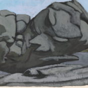 La grande pierre - 60,5 x 37,5