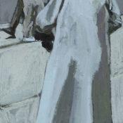 Blanc manteau - 23,1 x 51,9